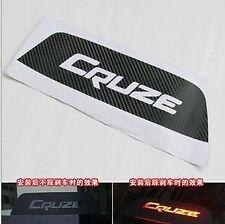 Carbon Fiber Decal Car Sticker for Chevrolet Cruze Tail Brake Light