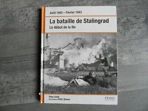 OSPREY PUBLISHING - LA BATAILLE DE STALINGRAD