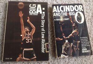 "(2) Milwaukee Bucks 1970-71 Championship Season Books Alcindor BIG ""O"" Kareem"