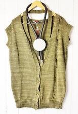 Cora kemperman Diseñador Chaleco de punto jersey talla M Estilo De Capas