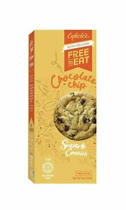 Cybele's Free to Eat Cookies, Chocolate Chip, 6 OZ (Pack of 1)