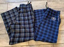NEW Merona Mens Blue Sail Print Cotton Stretch Summer Weight Pajama Pant 2XB BIG