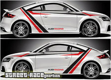 Audi TT rally 006 racing stripe graphics stickers decals vinyl
