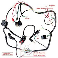 200 250cc QUAD ELECTRICS Harness CDI COIL NGK solenoid rectifier,Zongshen Loncin