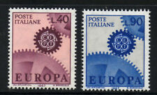 (Ref-5361) Italy 1967 Europa  SG.1175/1176 Mint (MNH)