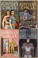 Lot Of 4 JUPITER'S CIRCLE 1, 2, 3, 6 IMAGE COMIC SET MARK MILLAR TORRES 2015 NM-