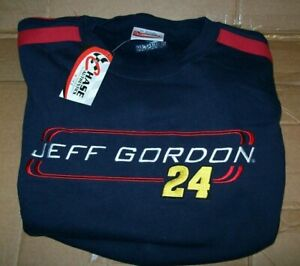 JEFF GORDON #24 DUPONT CHASE AUTHENTICS SWEATSHIRT BRAND NEW WITH TAGS SIZE 2XL