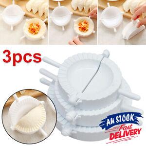 3pcs Press Mould Maker  Dumpling  Empanada Dough Mold Pierogi Turnover Ravioli