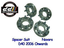 (4x) FOR Nissan Navara D40 Wheel Spacers 25mm 6x114.3 to 6x114.3 66.1MM M12X1.25