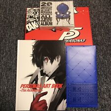 Used Play Station 4 Persona 5 20th Anniversary Edition Treasure BOX No Gamesoft