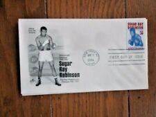 WORLD CHAMPION BOXER SUGAR RAY Robinson 2006  FDC UNADDRESSED