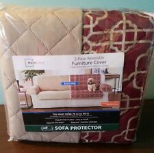 3- Piece Reversible Furniture Cover