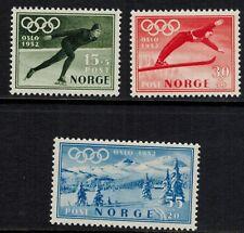 Noorwegen Norge postfris Mi 372 - 374 , F 404 - 406 (N108)