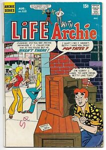 Life With Archie #112 (Archie, 1971) – Jughead – Betty – VG/FN