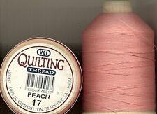 2 Spulen Yli Quiltgarn 100% Baumwolle 1200y peach 017
