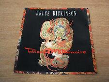 """bruce dickinson  tattooed millionaire  1990  uk issue vinyl 7"""" single  mint-"""