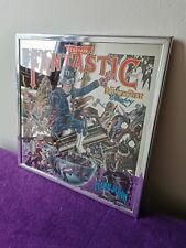 More details for vintage elton john captain fantastic carnival mirror vinyl cover free uk postage