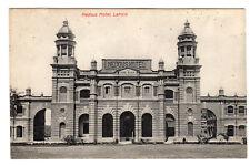More details for nedous hotel - lahore photo postcard c1910 / pakistan