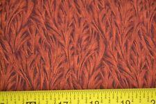 By 1/2 Yd, Orange on Black Quilting Cotton, RJR/Beyer/Hidden Garden, N1190