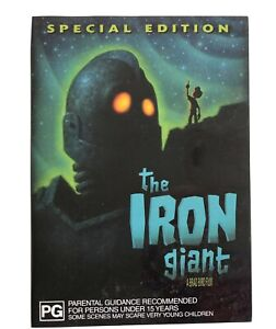 The Iron Giant Special Edition (DVD Region 4) Jennifer Aniston Special Features