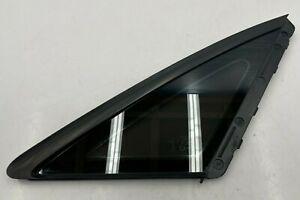 2011-2014 AUDI A8L D4 LONG - REAR RIGHT PASS SIDE QUARTER WINDOW GLASS OEM