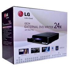 LG GE24NU40BK 24x Super Multi DVD±RW DL USB 2.0 External Drive
