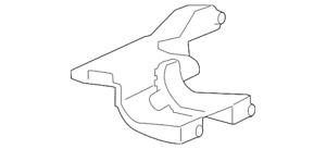 Genuine GM Rear Mount Bracket 25840456