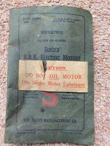 Vintage Singer Sewing Machine Parts. Assorted