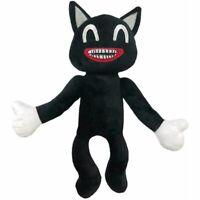 Black Cartoon Cat Plush Toy Stuffed Doll Toy 30cm / 12in Horror Christmas Gift