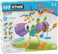 K'NEX Kids Dino Dudes With Eyes Wings Shells Spikes Tails And More NEW UK