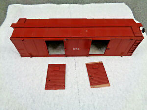 American Flyer S Gauge 1954 #974 A.F.L Box Car Very Nice Undamaged Shell Only