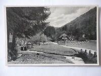 Ansichtskarte Wirtschaft zum Gröscheltal bei Neuenburg Schwarzwald 1941