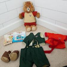 Teddy Ruxpin Original Vtg 1985 Tapes Books Works Wow Talking Bear Doll Bundle