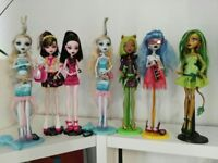 Monster High Dolls Dawn of the Dance Draculaura Clawdeen Wolf Ghoulia Yelps etc
