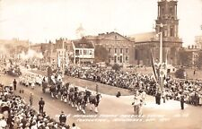 RP Postcard American Legion Convention Parade in Milwaukee, Wisconsin~124546