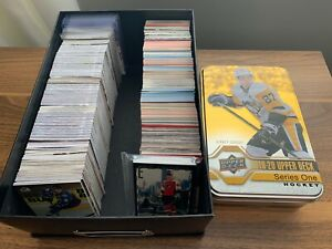 NHL Hockey 900+ Card Lot Rookie RC Upper Deck O-Pee-Chee Young Guns Insert Relic