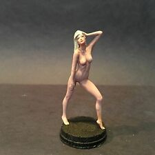 1/24 1/25 or G  75mm Scale Resin Model Kit, Sexy action Figure Hazel