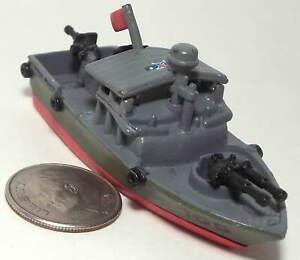 Small Micro Machine Plastic US Navy PBR 105 (Patrol Boat-River)