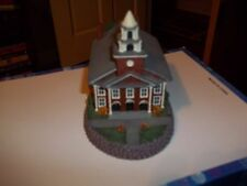 """NORMAN ROCKWELL`S HOME TOWN COLLECTION """"THE  CHURCH ON THE GREEN""""  FIGURINE"""