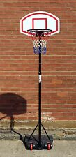 Basketball Net With Adjustable Stand On Wheels Hoop Backboard Basket ball Kit