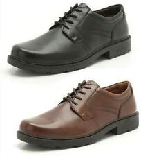 Clarks 100% Leather Round Shoes for Men