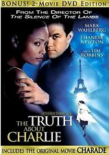 NEW DOUBLE FEATURE  DVD// TRUTH ABOUT CHARLIE  & CHARADE// MARK WAHLBERG