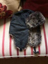 Primark Grey Faux Fur Deer Hat, One Size