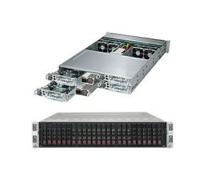 SUPERMICRO SuperServer SYS-2028TP-HC1TR with X10DRT-PT Motherboard
