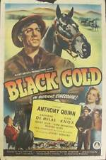 "Black Gold, 1947, Original 1 Sheet (27x41"")"