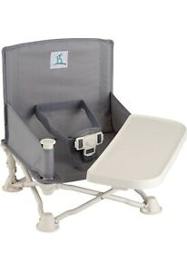 hiccapop Omniboost Travel Booster Seat with Tray for Baby | Folding Portable