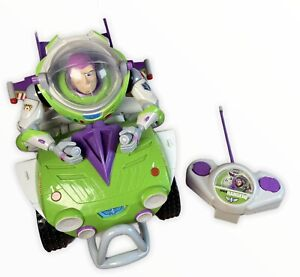 Buzz Lightyear Remote Controlled Quad Toy Story Vehicle Tested & Working