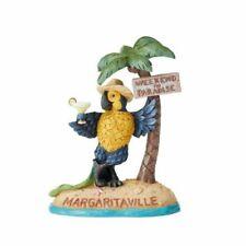 Jim Shore 2019 Margaritaville Parrot Under Palm Tree-Weekend In Paradise 6004009