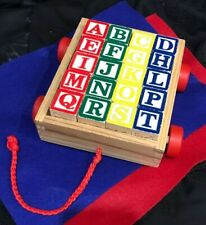 Alphabet Blocks With Wagon