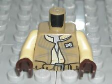 LEGO STAR WARS Dark Tan Torso Vest Rebel Army Military Trooper Minifigure 75133